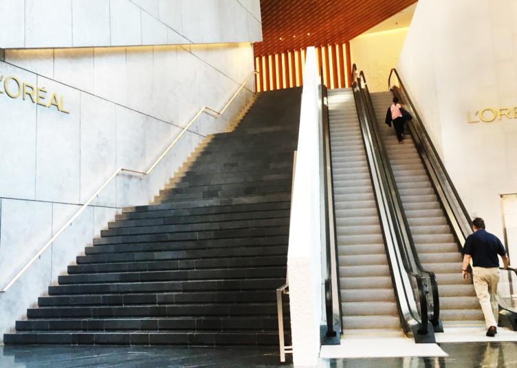 Hudson Yards - L'Oreal Lobby