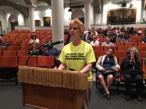 Tenant activist Susan Steinberg