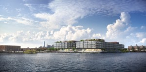 Rendering of the new Red Hook development