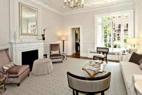 The Upper West Side townhouse was listed by BHS