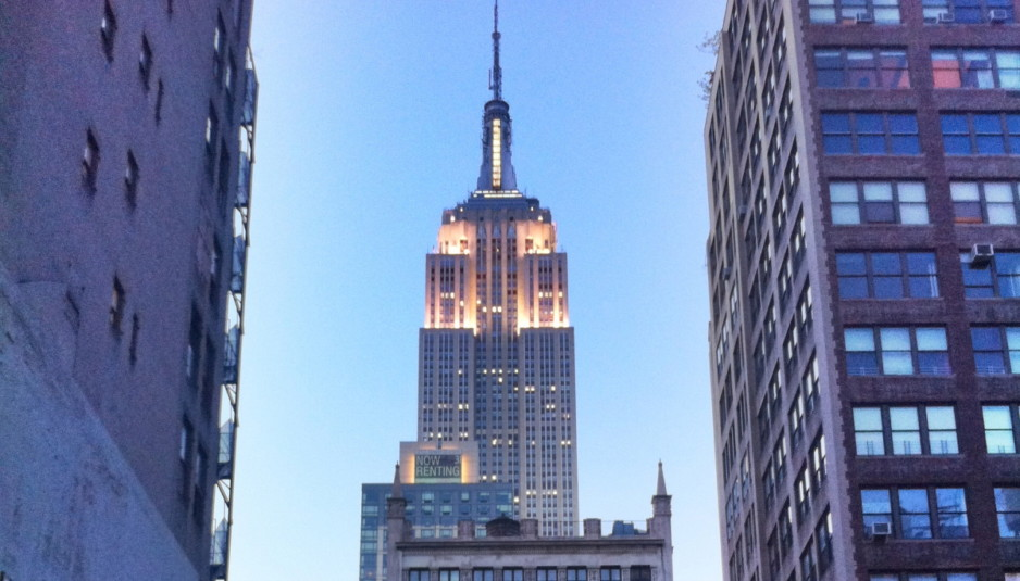 Radio station operator emmis expands lease at empire state for How many floors the empire state building have