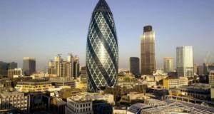 The gerkin building in london
