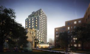 Marvel Architects rendering of the Ingersoll development.