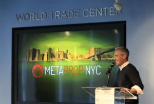 Metaprop co-founder Aaron Block was a Cushman & Wakefield broker
