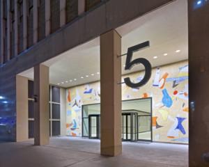 5 Bryant Park lobby