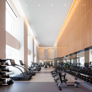 Wright Fit Chief Executive Jay Wright worked with architect Rafael Vinoly on the 432 park gym.