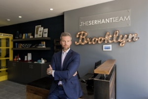 Serhant is looking to grow business in Brooklyn. Photo by Richard Caplan