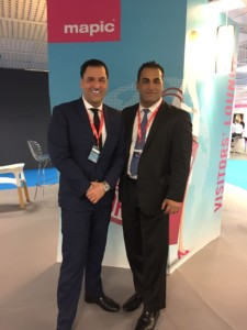 Eastern Consolidated's James Famularo and Ravi Idnani in Cannes