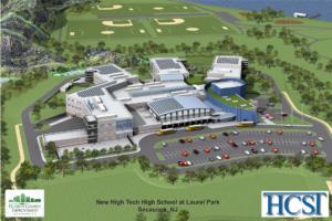 Rendering of the new school