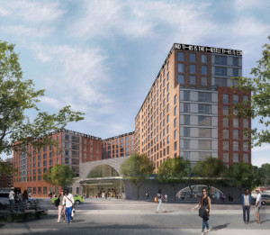 Bronx Commons rendering by Danois Architects