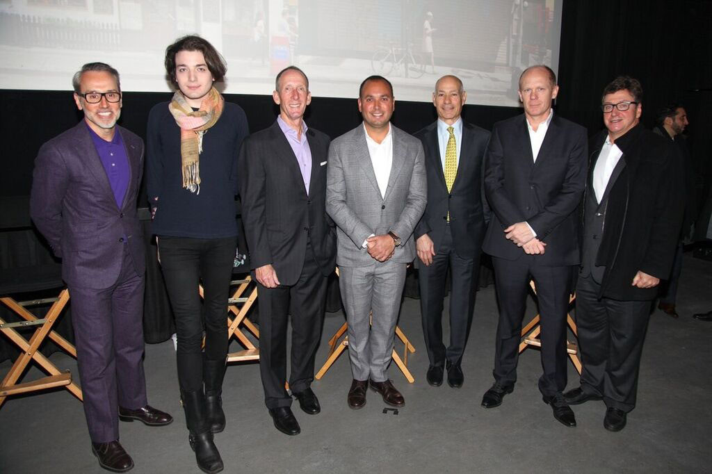 Pictured l-r: Leonard Steinberg, Nikolai Fedak, Arthur Stern, Benjamin Shaoul, Charles Bendit, Andres Hogg and José Antonio Grabowsky.