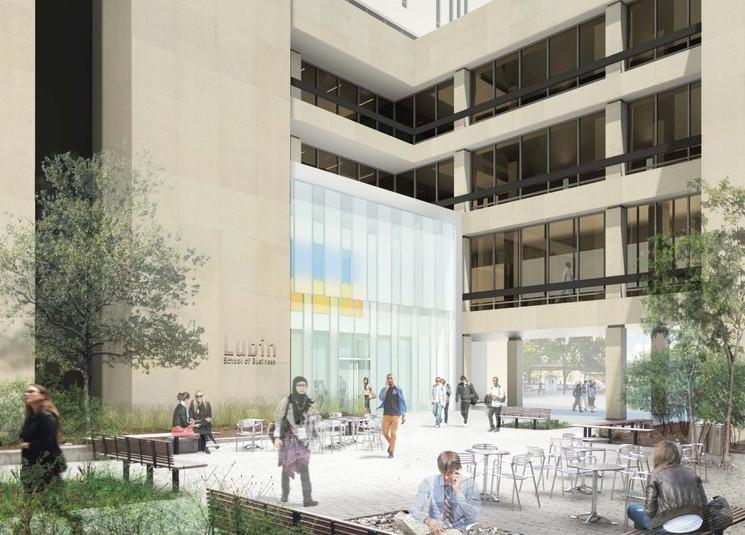 Pace University Master Plan - Photo Credit FXFOWLE