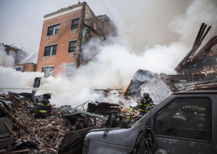 east harlem explosion blast