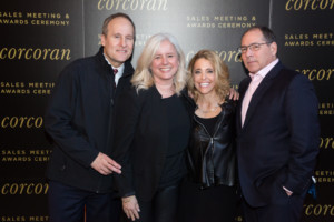 L-R: 2016 Brooklyn winners the Cornell Marshall Team (Leslie Marshall and Jim Cornell, along with Bill Cunningham and Pamela Liebman)