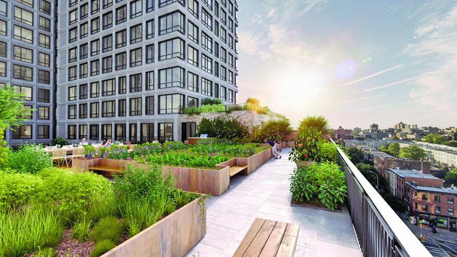 Best residential buildings of 2017 for Pacific park 550 vanderbilt