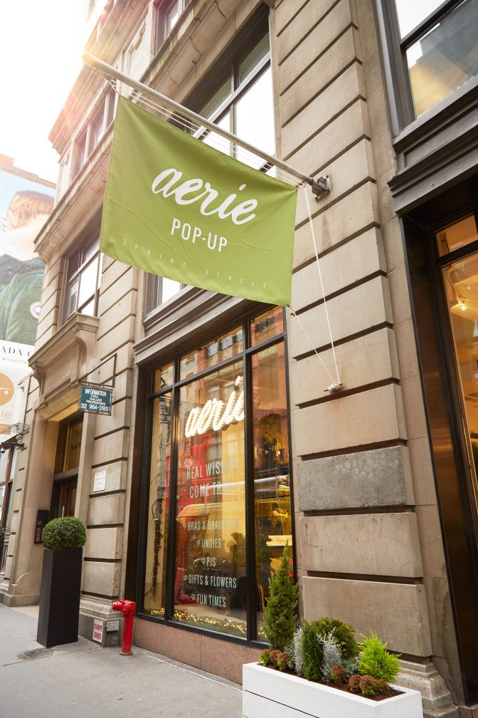 Aerie To Open Permanent Spring Street Store After Pop Up Popularity