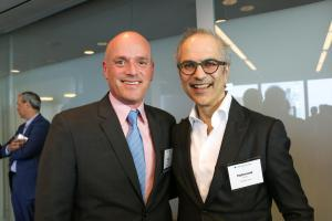 Todd Soloway (Partner and Head of Pryor Cashman's Hotel and Hospitality Practice) and Mahmood Khimji (President, Highgate Holdings Inc.)