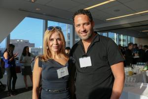 Roxana Girand (CEO, Sebastian Capital, Inc.) and Jared Epstein (Vice President and Principal, Aurora Capital Associates)