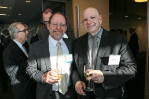 Perry Amsellem (Partner, Pryor Cashman) and Charles Gerber (President, Triumph Global Securities, Ltd.)
