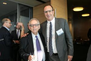 Michael Broido (Senior Vice President, Emigrant Bank) and Ronald Kremnitzer (Partner, Co-Head of Pryor Cashman's Real Estate Practice)