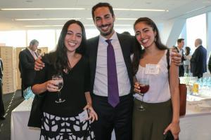 Sarah Mansher (Rosenberg & Estis, P.C.), Jake Mansher (Vice President, Garrison Investment Group), and Orah Mansher (Associate, Golden East Investors)