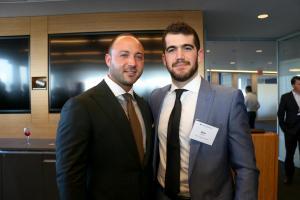 Robert Heicklen (Senior Vice President, Thor Retail Advisors) and Alex Berman (Associate, Tishman Realty Corporation)