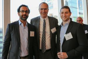 Samit Mody (Vice President, Emigrant Realty Finance), Ronald Kremnitzer (Partner, Co-Head of Pryor Cashman's Real Estate Practice), Aaron Roth (Commercial Real Estate Analyst, Emigrant Bank)