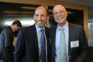 Ira Weidhorn (Managing Director, H.I.G. Realty Partners) and Wayne Heicklen (Partner & Co-Head of Pryor Cashman's Real Estate Group)