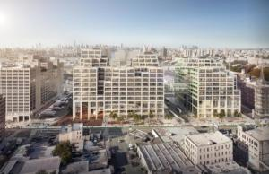 Brooklyn Navy Yard's Flushing Avenue Plaza
