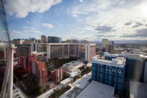 Views from the High Roller at the LINQ